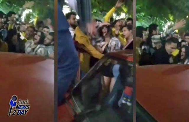 اعتقال 7 أشخاص بحادثة التحرش بفتاة المنصورة ArabNews2Day