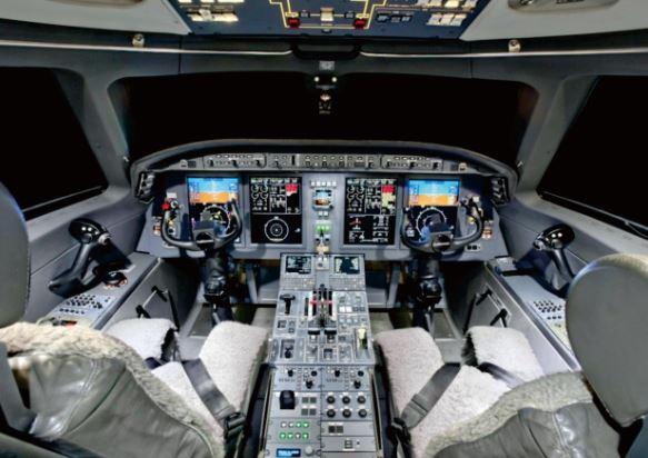 Gulfstream G150 cockpit