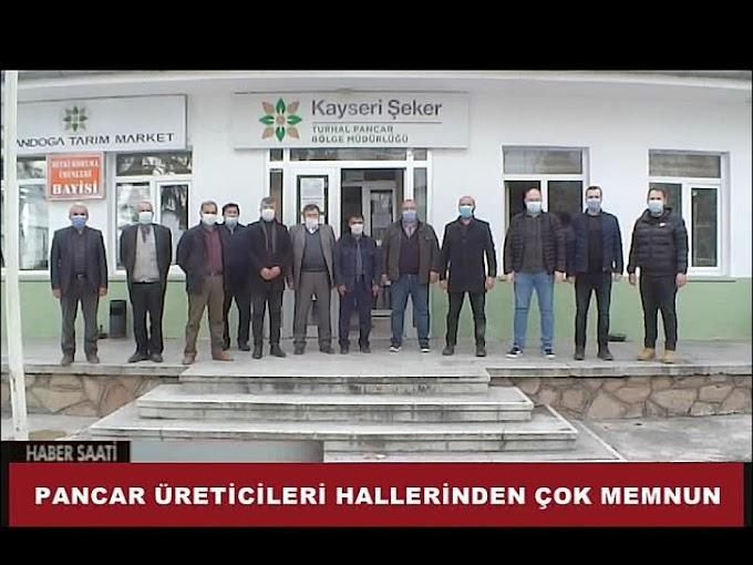 TURHAL'DA PANCAR ÜRETİCİSİ ÇİFTÇİLER HALLERİNDEN OLDUKÇA MEMNUN