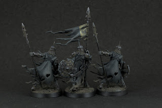 Cursed City Ulfenwatch Spearmen and Standard Bearer (back)