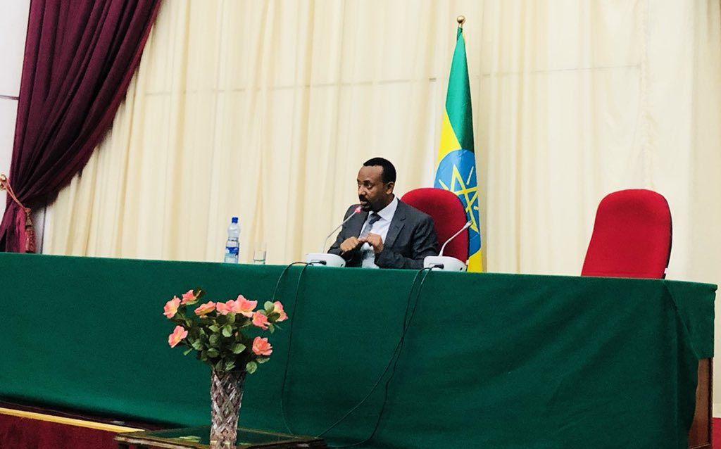 <Ethiopian PM meets with soldiers demanding pay rises: TV