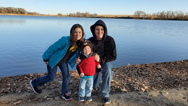Our children at Split Rock Creek State Park