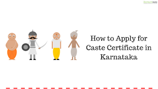 How to Apply for Caste Certificate in Karnataka