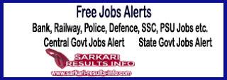 freejobalert, free job alert, free govt jobs alert, free jobs alert