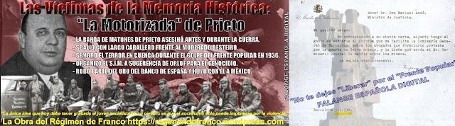 La banda de matones de Indalecio Prieto mató antes y durante la guerra.