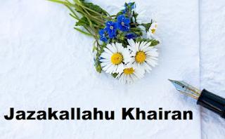 Arti Jazakumullah Khairan, Jazakallahu Khairan dan dan Cara Menjawabnya