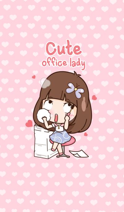 Cute office lady