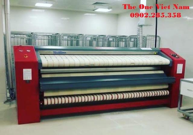 Máy là gấp công nghiệp Tolkar