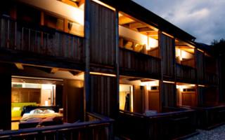 4 Sterne Naturhotel Moosmair im Ahrntal Garten