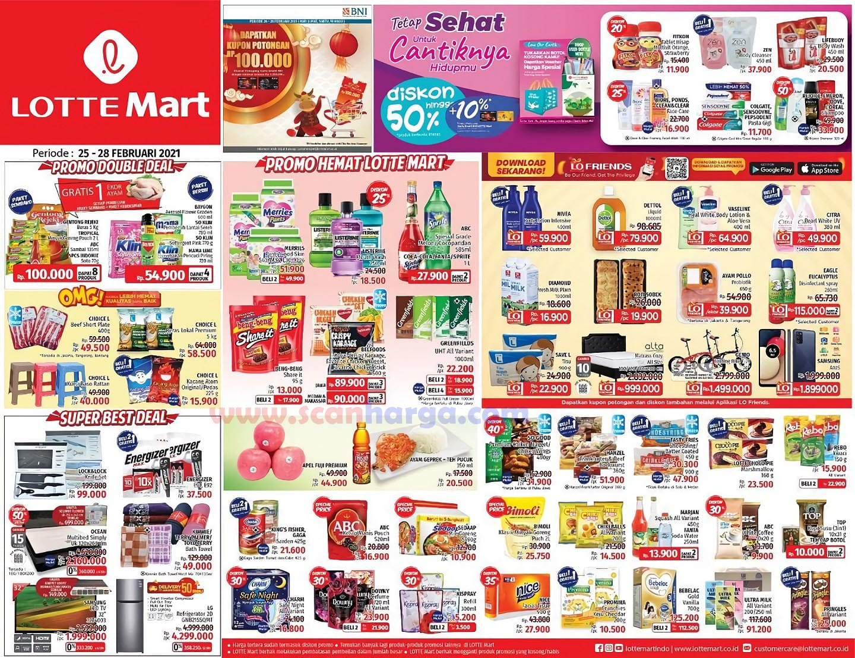 Katalog Promo Lottemart Weekend 25 - 28 Februari 2021