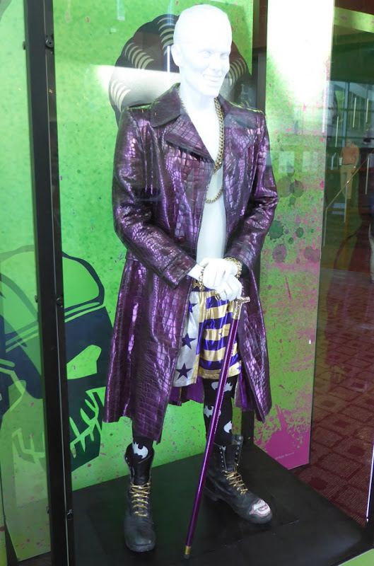 Joker purple coat costume Suicide Squad