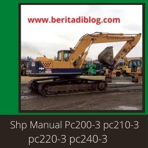 Pc200-3 pc210-3 pc220-3 pc240-3 shop manual komatsu