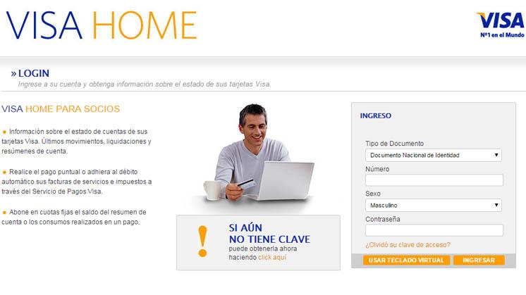 Cómo hacer el aviso de viajes en Visa Home Argentina