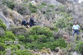Αργολίδα: ΙΧ έπεσε σε γκρεμό  στην περιοχή Κονδύλι Ναυπλίου - Νεκρός ο οδηγός του