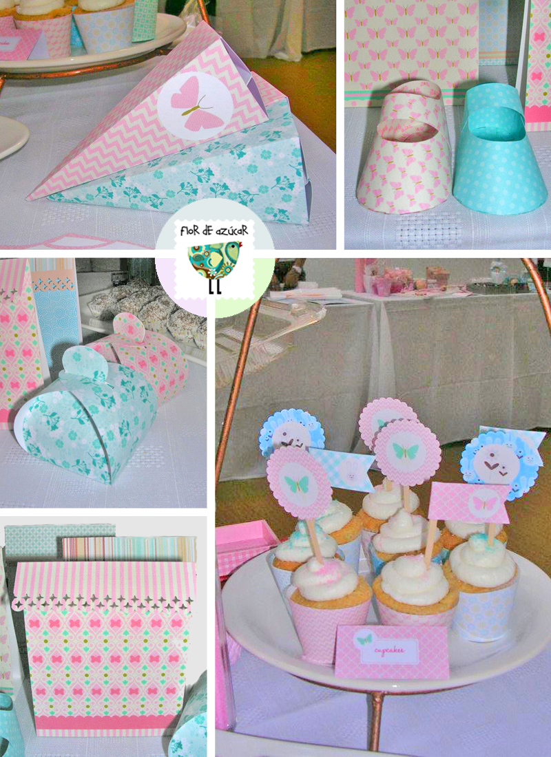 Flor de az car todo listo para un baby shower for Todo decoracion