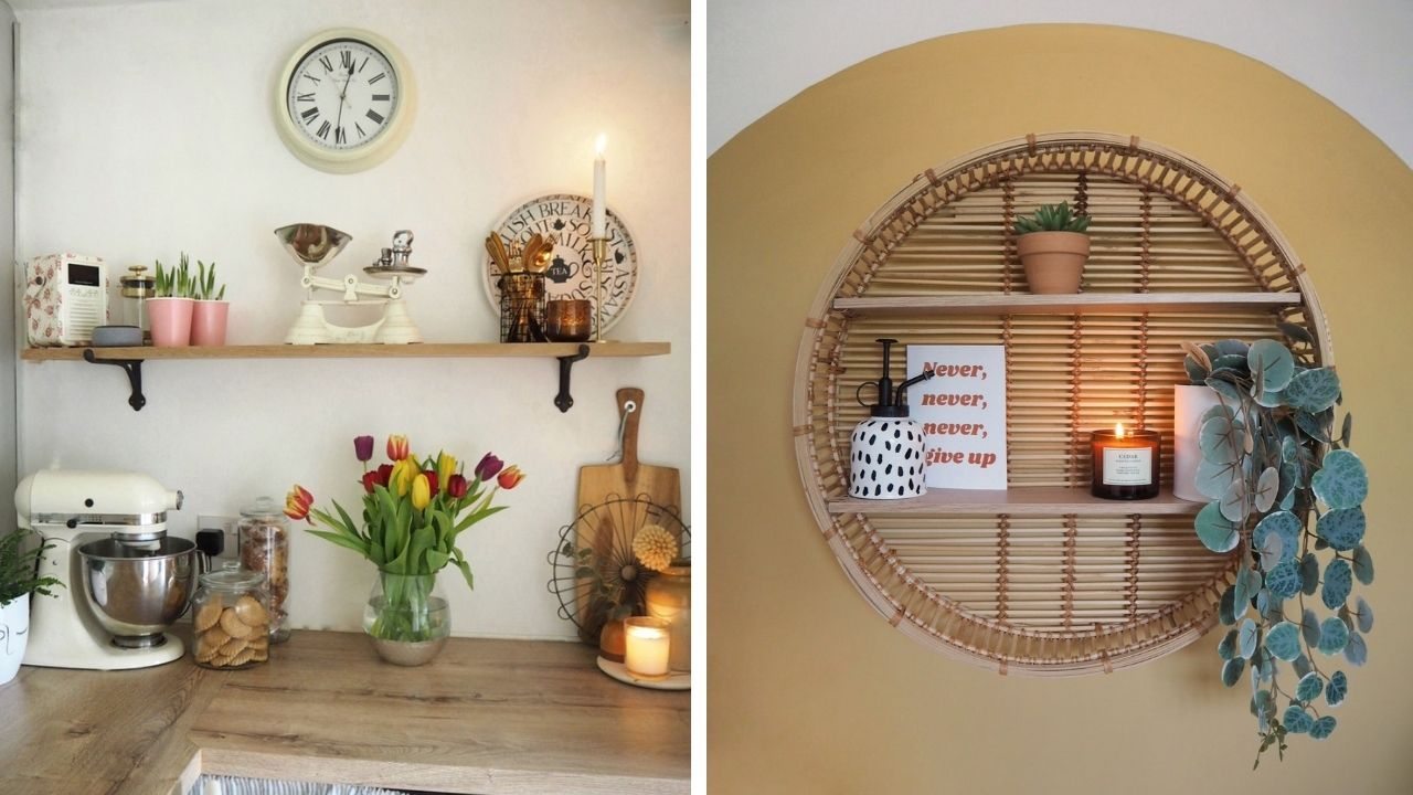 Easy ways to style a room using decor and accessories. A beginners guide to creating a beautiful space using budget home items