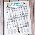 Dog Breed Word Search