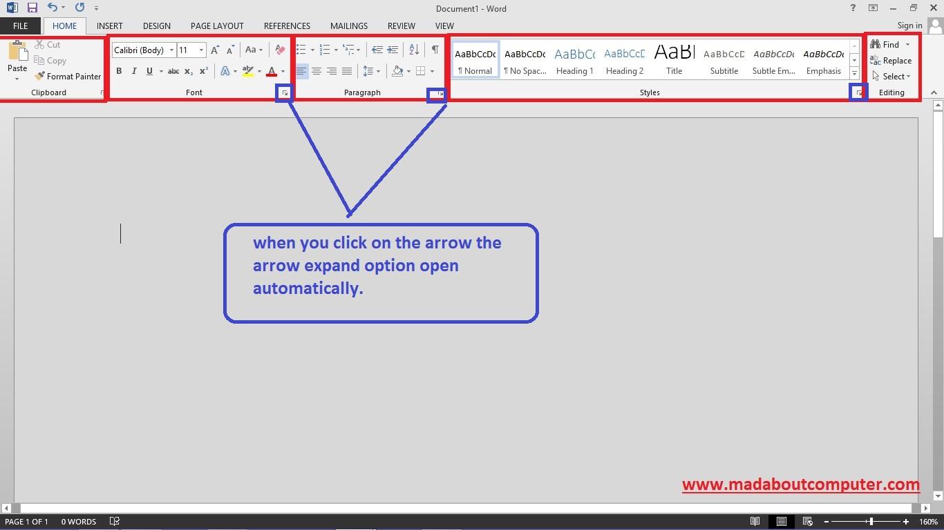 microsoft word 2013 tutorial