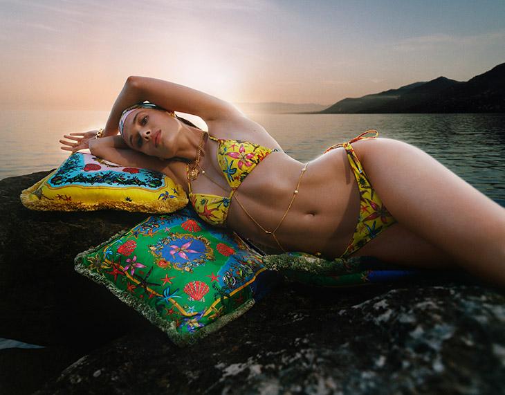 La Vacanza Mini Versace Summer 2021 Swim Campaign