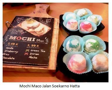 Mochi Maco Jalan Soekarno Hatta