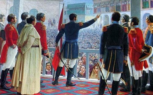 Efemérides de Perú: Proclamación de Independencia
