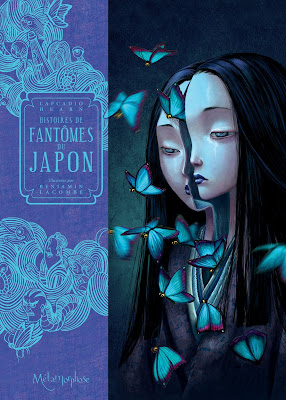 """couverture de """"Histoires de Fantômes du Japon"""" de Benajmin Lacombe et Lafcadio Hearn chez Soleil"""