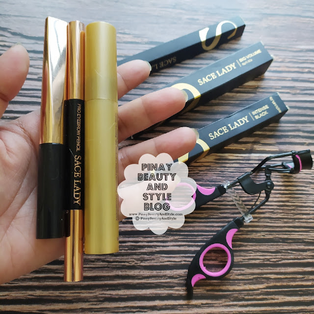Sace Lady Eye Makeup Bundle mascara eyeliner brow pencil