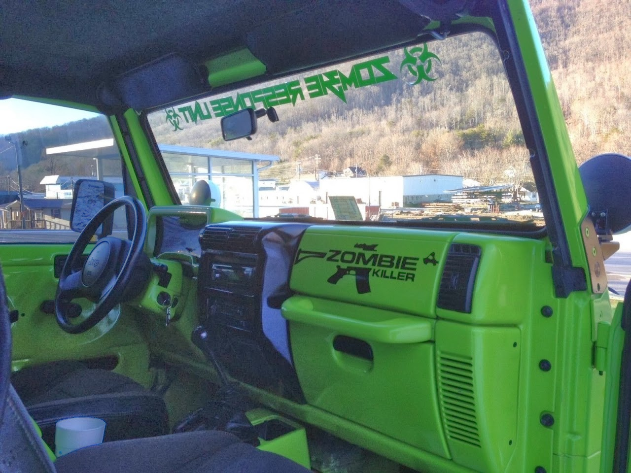 The Coolest Custom 1997 Jeep Wrangler Auto Restorationice Dash