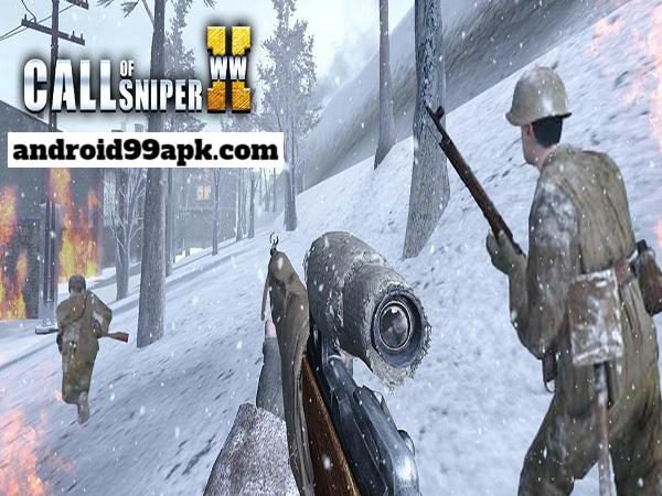 لعبة Call of Sniper WW2 v3.1.7 مهكرة للأندرويد