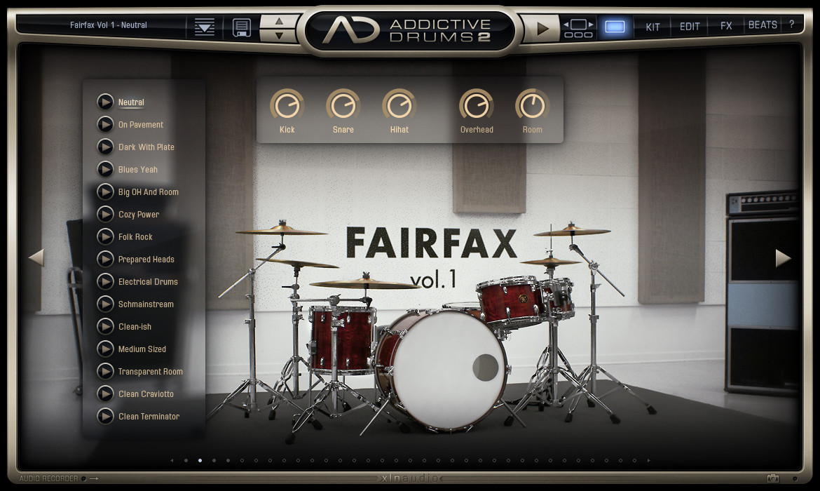 Addictive Drums 2 v2.1.7 Complete Full version
