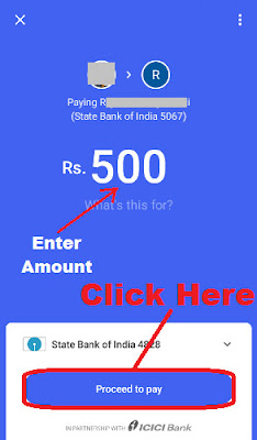 how to transfer money to any bank account from tez app