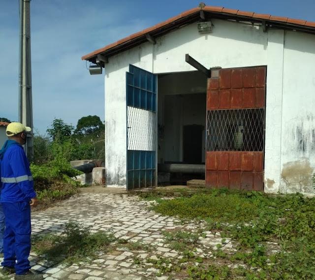 Furto de quadros elétricos deixa Caraúbas sem abastecimento de água
