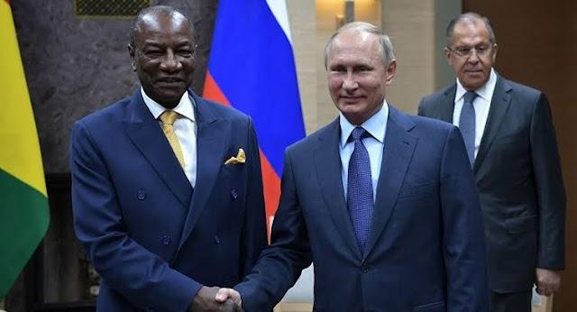 Rússia perdoa dívida de mais de $20 bilhões de países africanos