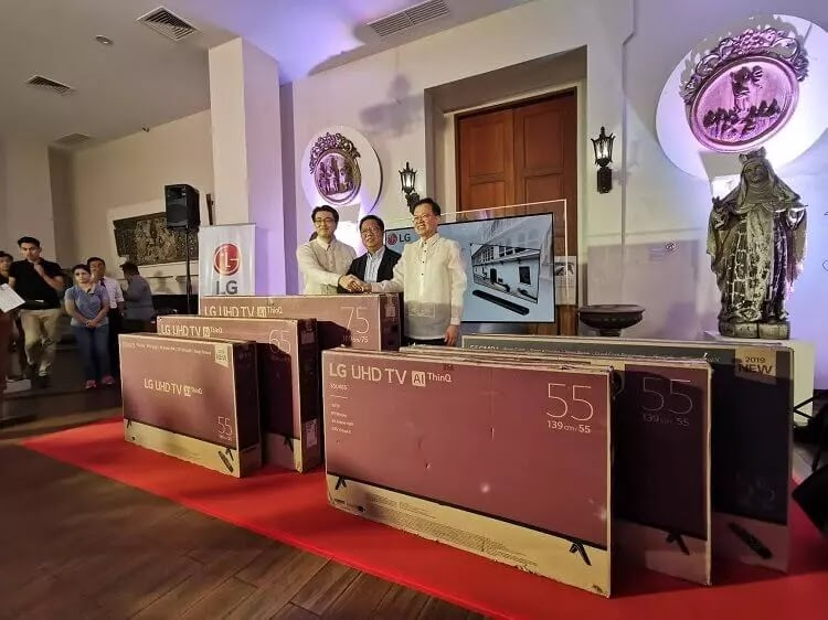 LG Philippines Donates New TVs to Museo de Intramuros