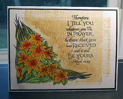 Our Daily Bread Designs, Scripture Collection 3, Tiger Lily
