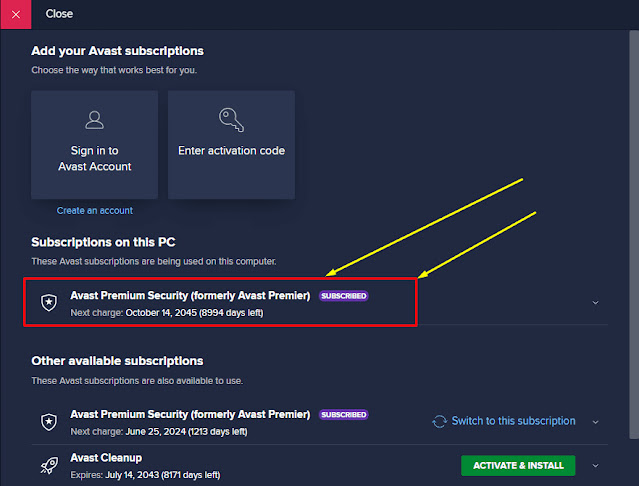 Avast Premium Security 2021 + License key Till 2045 [Latest]