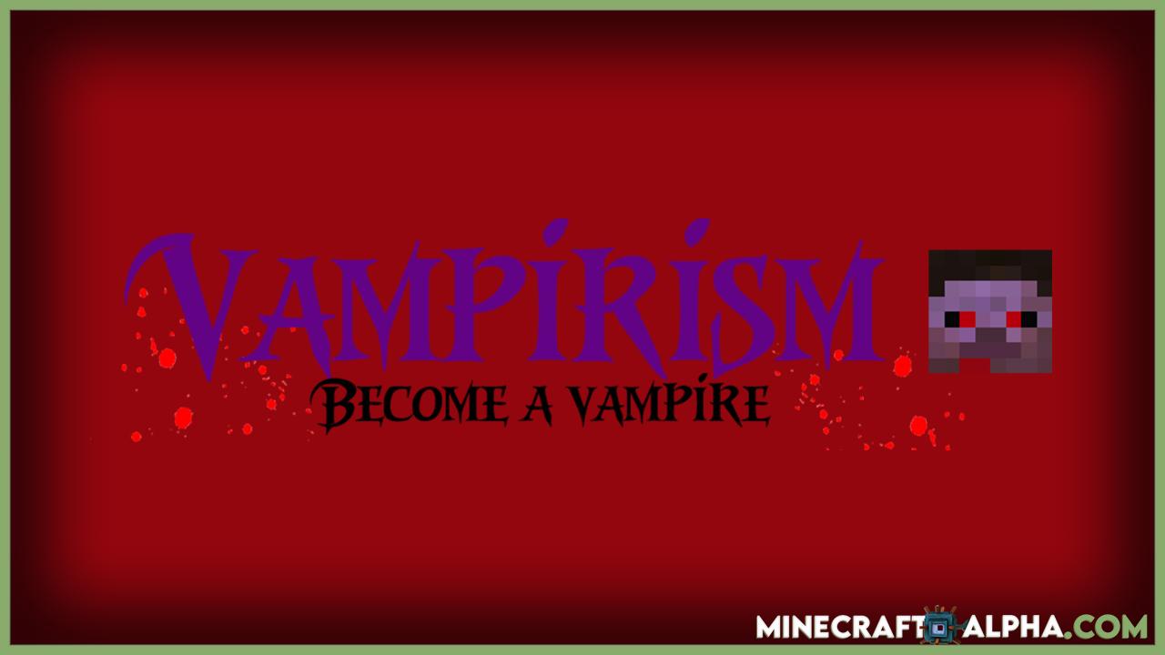Vampirism Mod 1.17.1 (Become A Vampire)