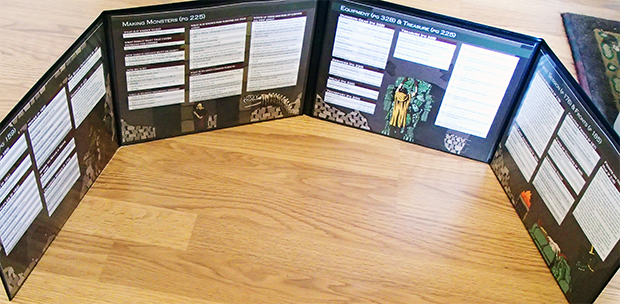 Dungeon World GM Screen: Landscape Inserts Are Available