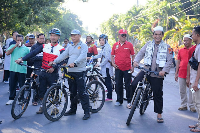 Car free day lombok timur dibuka
