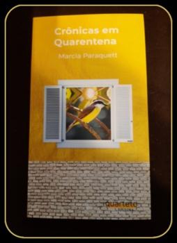 """Livro """"Crônicas em Quarentena"""""""