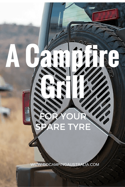 camping gadget campfire grill