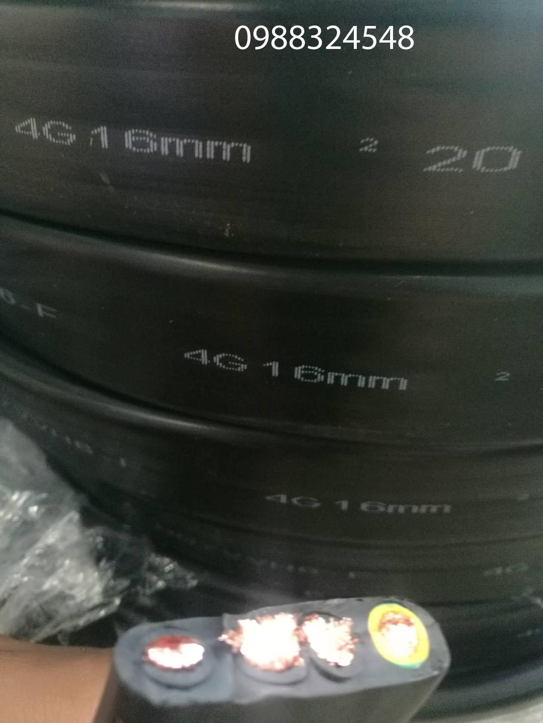 Cáp điện dẹt 4C x 16mm2