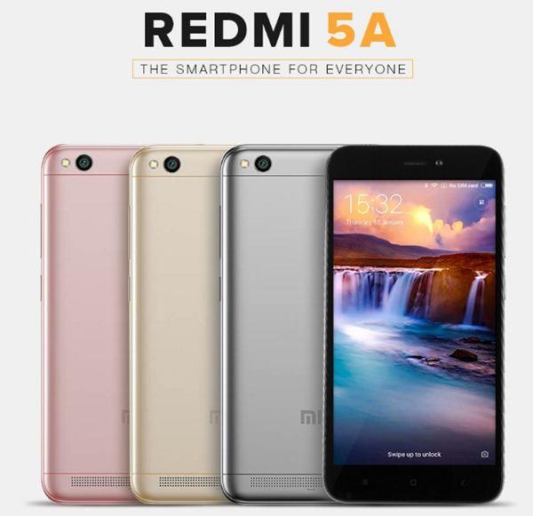 Xiaomi Redmi 5A Rose Gold - Twitter 1