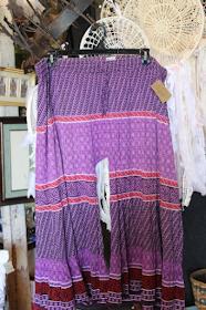 plus size split skirt