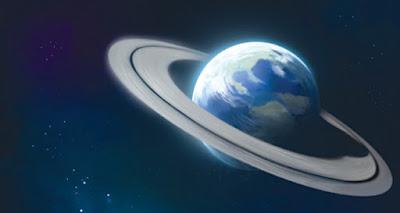 E se a Terra tivesse anéis como Saturno?