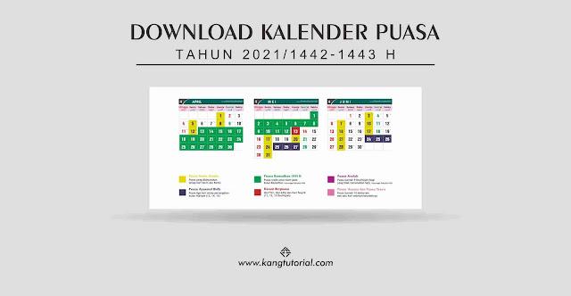 Kalender Puasa Tahun 2021