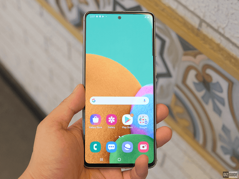 Note10 Lite screen