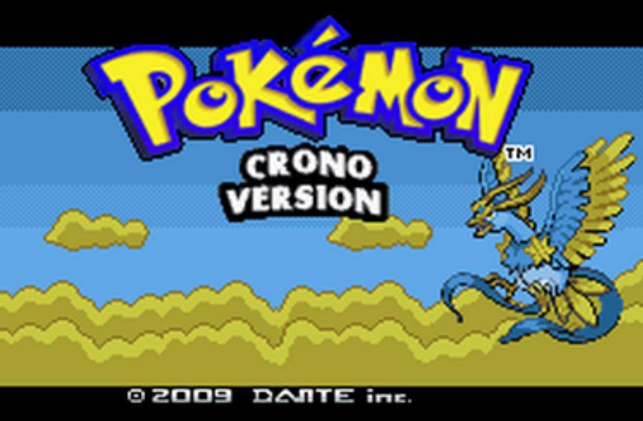 Pokemon Crono para GBA Imagen Portada