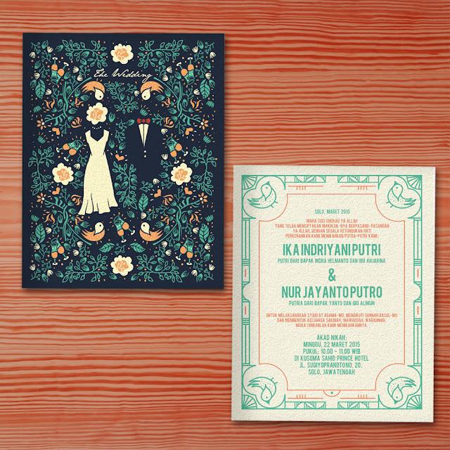 Undangan Pernikahan Unik