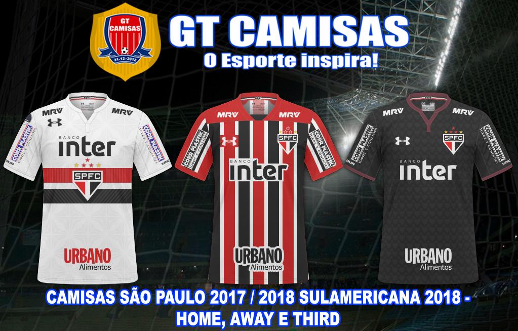 96fd68cb547 GT Camisas  Camisas Copa Sulamericana 2018 - Times Brasileiros